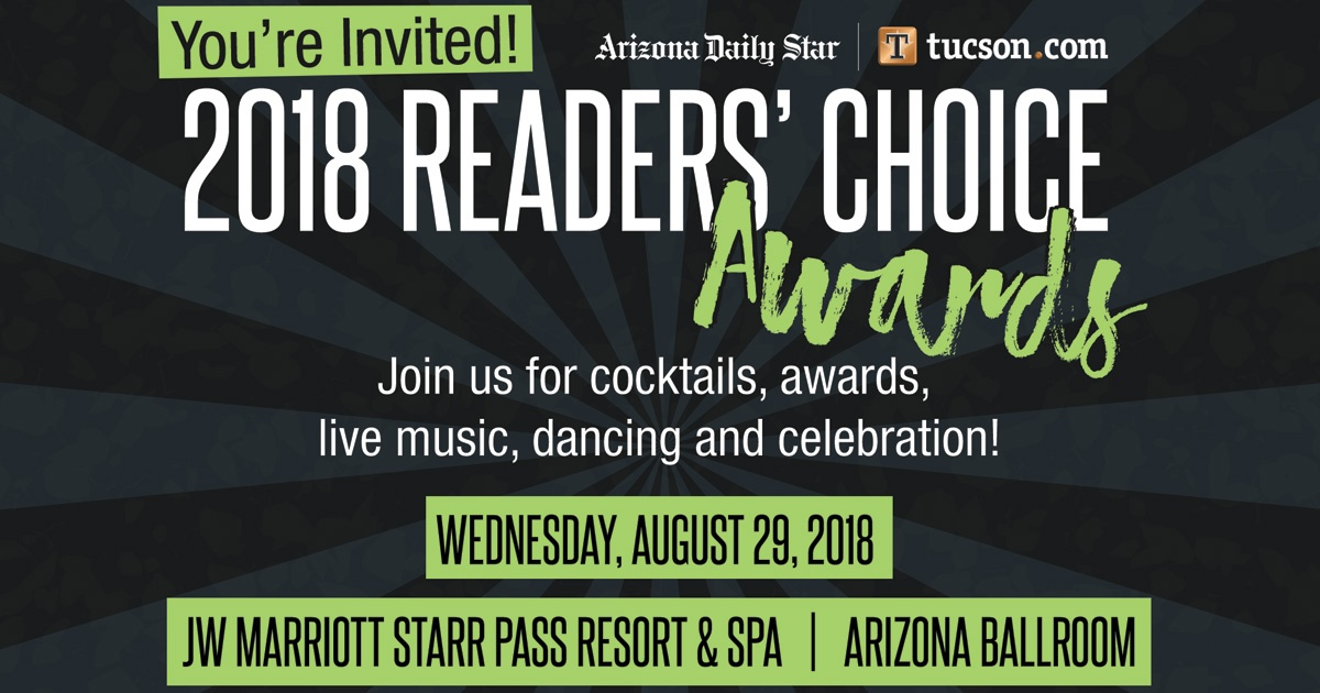 Jw Auto Sales >> Tucson Marketing - Arizona Daily Star - 2018 Reader's ...